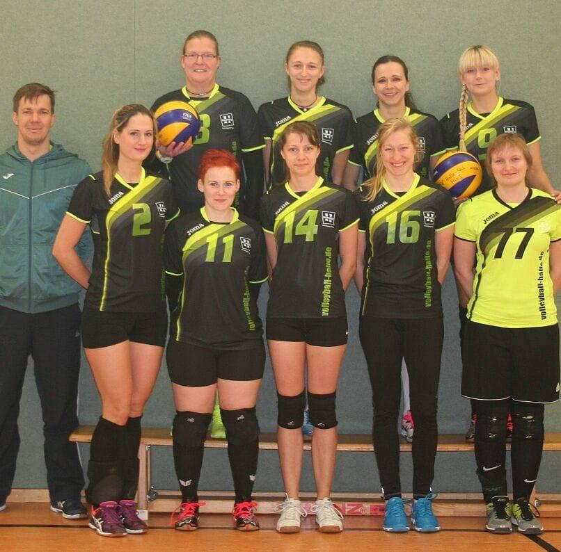 Volleyball Damen des TSV Halle Süd